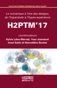 couverture ouvrage H2PTM 2017 ISTE editions